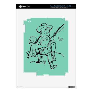 Fishing Buddies iPad 3 Decals