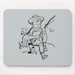 Fishing Buddies Mouse Pad