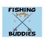 Fishing Buddies Post Cards