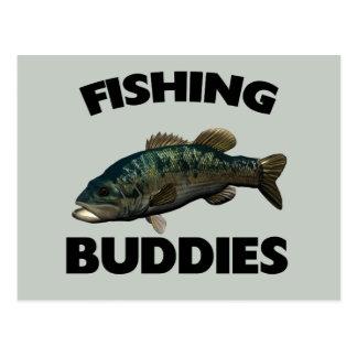FISHING BUDDIES POSTCARD