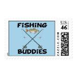 Fishing Buddies Stamp
