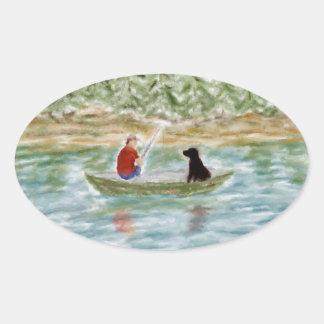 Fishing Buddies Stickers