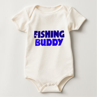 Fishing Buddy Baby Bodysuit
