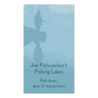 Fishing business card