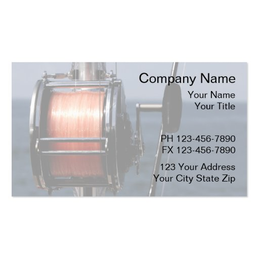 10000 fish business cards and fish business card for Fishing business cards