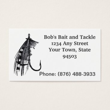 Professional Business Fishing business cards