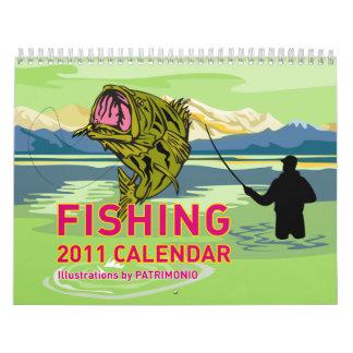 Fishing Calendar 2011 by Patrimonio