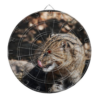 Fishing Cat Dartboard With Darts