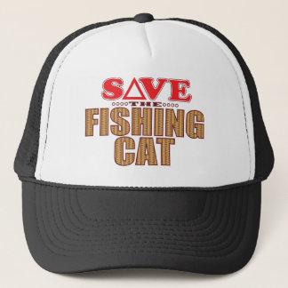 Fishing Cat Save Trucker Hat