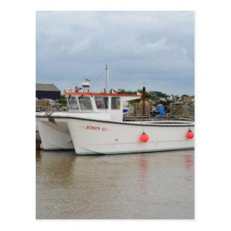 Fishing Catamaran JOHN-O Postcard