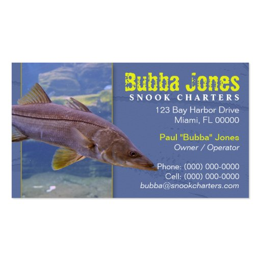 Fishing charters business card zazzle for Fishing charter business cards