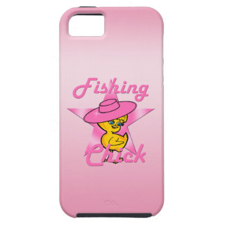 Fishing Chick #8 iPhone SE/5/5s Case