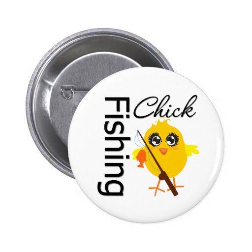 Fishing Chick Button