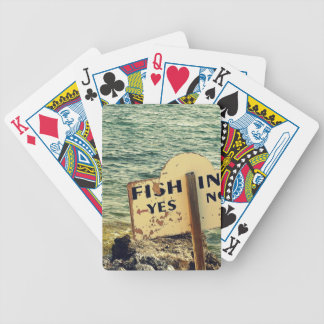 Fishing Choices Bicycle Playing Cards