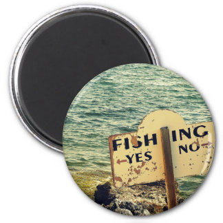 Fishing Choices Magnet