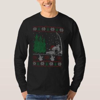 Fishing Christmas T-Shirt