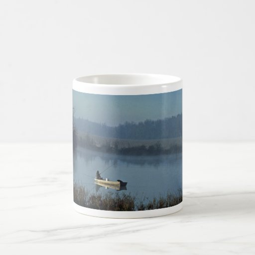 Fishing Classic White Coffee Mug