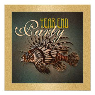 Fishing commerical year end party CUSTOMIZE Invitations
