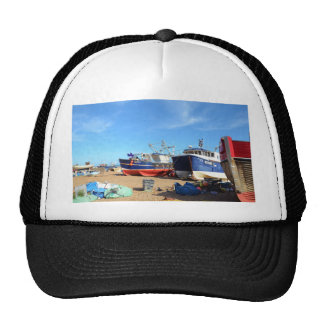 Fishing Community At Hastings Trucker Hat
