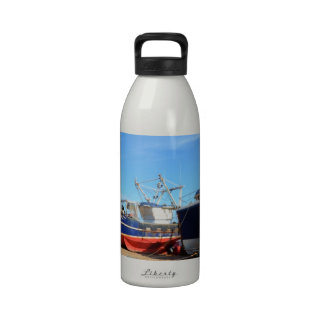 Fishing Community At Hastings Reusable Water Bottle