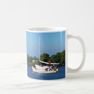 Fishing craft and skiffs, Belize Mugs