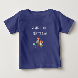 Fishing + Dad Baby T-Shirt