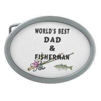 Fishing Dad Belt Buckle