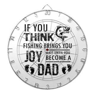 Fishing Dad Dart Board