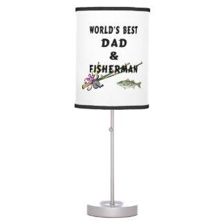 Fishing Dad Desk Lamp