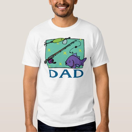 Fishing Dad Father's Day T-Shirt