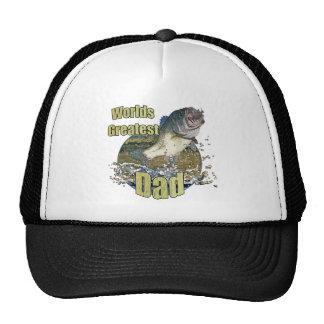 Fishing dad hat