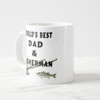 Fishing Dad Large Coffee Mug