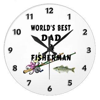 Fishing Personalized Clocks