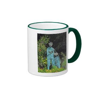 Fishing Dad & Son Ringer Coffee Mug