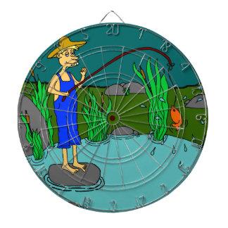 fishing dart boards