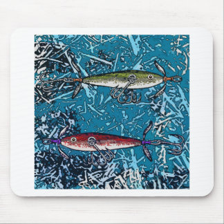 fishing day mouse pad