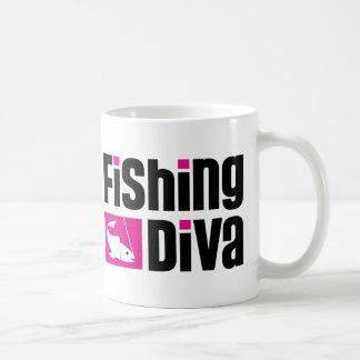 Fishing Diva Coffee Mug
