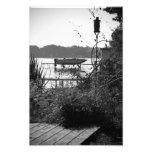 Fishing Dock Photo Print