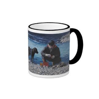 fishing_dog ringer coffee mug