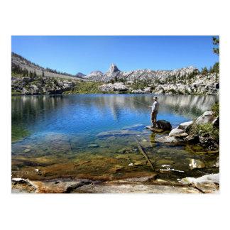 Fishing Dollar Lake - John Muir Trail Postcard