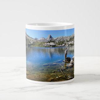 Fishing Dollar Lake - John Muir Trail Extra Large Mugs