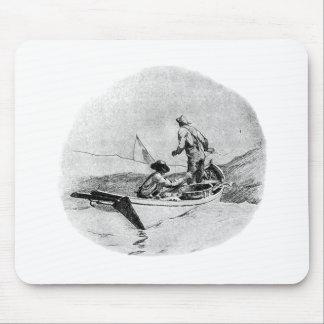 Fishing - Dory Fishermen Mouse Pad