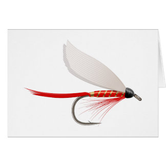 Fishing Dry Fly Red Card