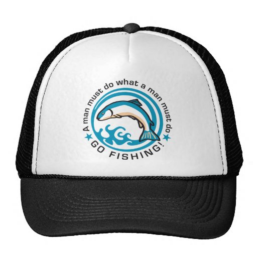 fishing E 3c Trucker Hat