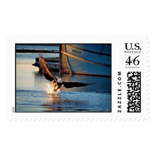 Fishing Eagle stamp