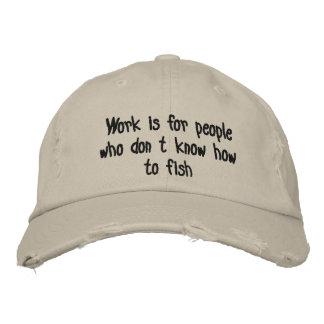Fishing Embroidered Baseball Cap