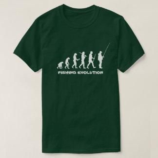 Fishing Evolution Funny Fisherman T-Shirt