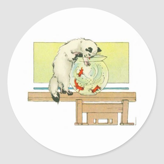 Fishing Expedition Classic Round Sticker