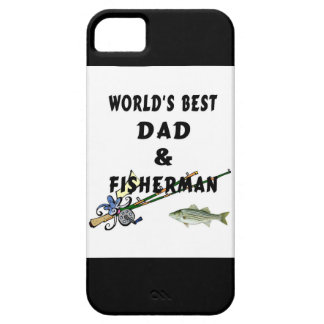Fishing Father Best Dad iPhone 5 Cases