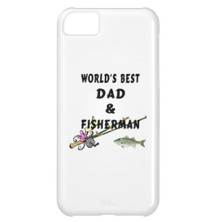 Fishing Father Best Dad iPhone 5C Case